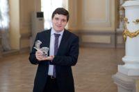 Обладатель «Хрустального пеликана» Андрей Барашев.