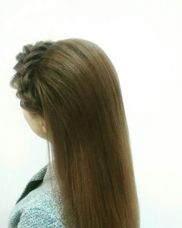 Главное, чтобы причёска сочеталась с нарядом, фигурой и формой лица.