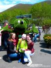 Микки Маус из зелени.