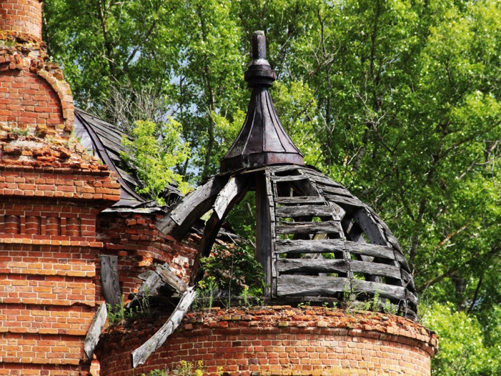 Сохранились даже деревянные конструкции