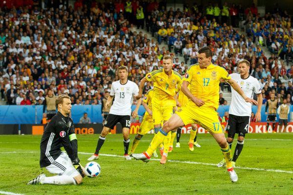 Напряжение в штрафной сборной Германии.