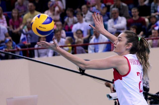 Сборная России по волейболу выиграла в Калининграде три матча Гран-При.