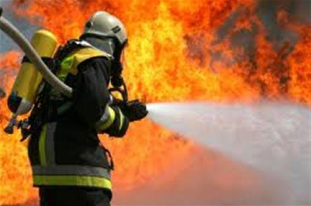 НаЛьвовщине появился пожар наочередной свалке
