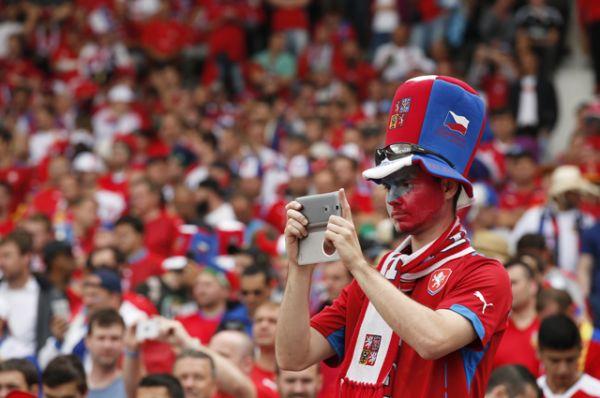 Фанаты сборной Чехии.