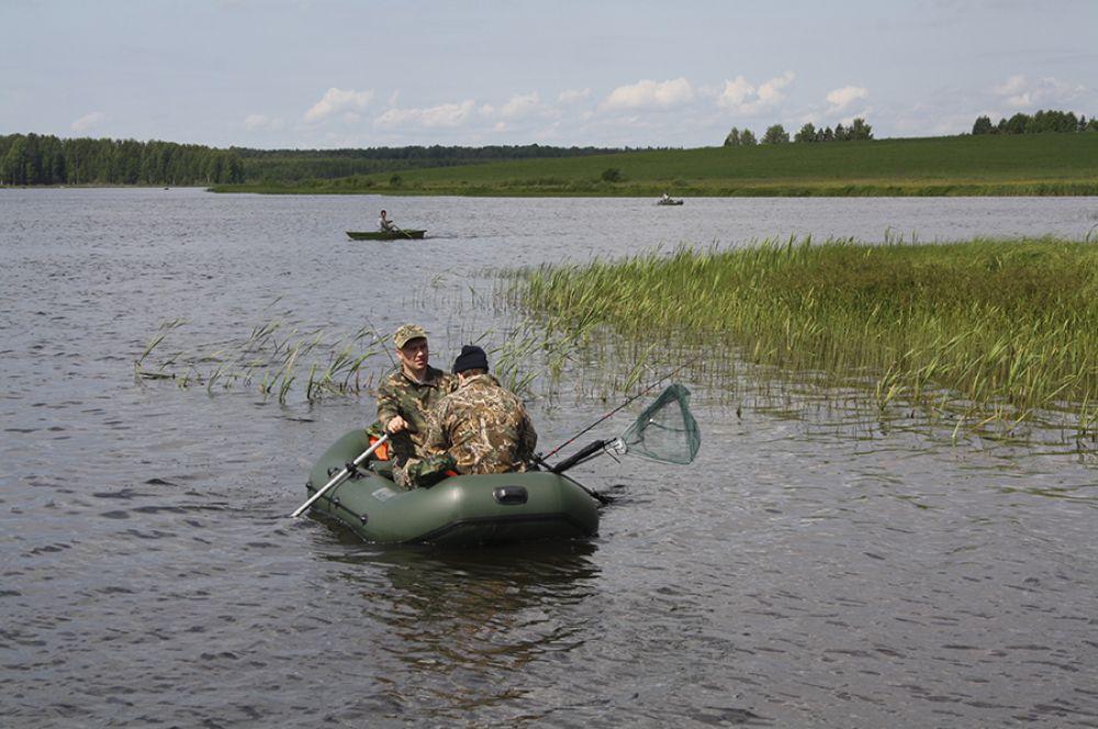 В турнире «Арбажская щука» приняли участие более 70 человек из различных регионов России.