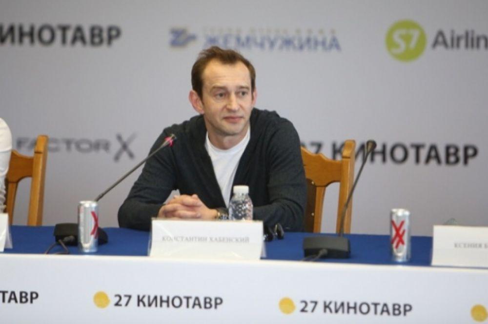 Константин Хабенский получил приз за лучшую мужскую роль в картине «Коллектор».
