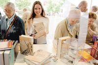Многие на выставку пришли из-за «Детской книги войны».