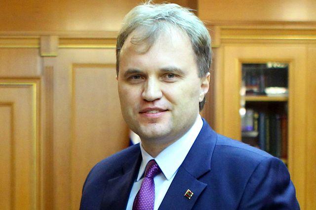 Глава непризнанной Приднестровской молдавской республики Евгений Шевчук.