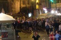 Британские фанаты в Лилле во время Евро-2016.