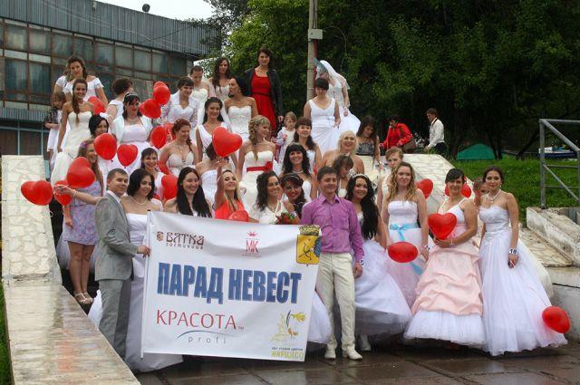 Парад также проходил в прошлом году.