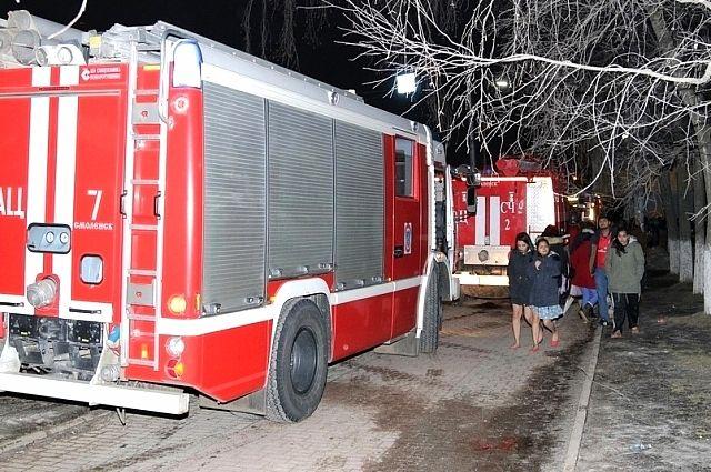 Контролеры университета не оповестили студентов о пожаре.