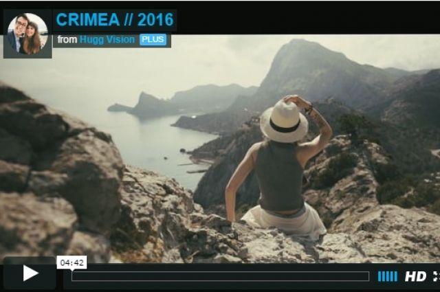 Кадр из видеоролика (вид на Новый Свет)