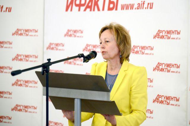 Ольга Жихарева, заместитель начальника управления статистики труда Росстата на Smart Код Conference АиФ