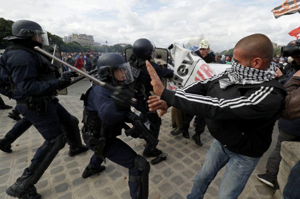 Митинги продолжаются, несмотря на проведение Евро-2016.