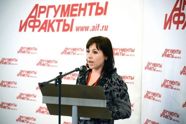 Виктория Воробьева, исполнительный директор общественной организации «Ассоциация центров трудоустройства ВУЗов Москвы», на Smart Код Conference АиФ