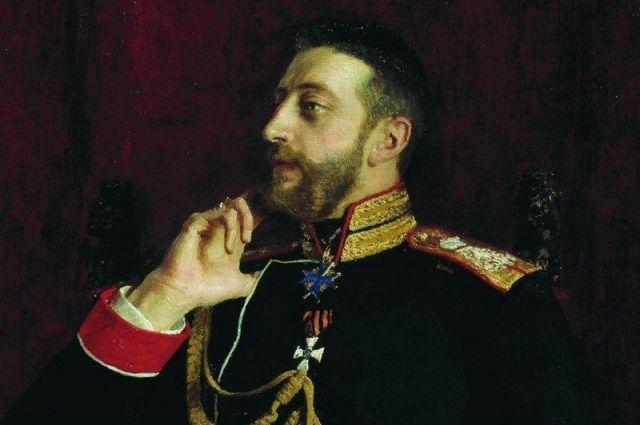 Портрет кисти Ильи Ефимовича Репина, 1891 г.