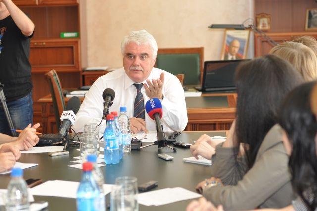 Андрей Максименко, и.о. ректора АлтГТУ встретился с журналистами.