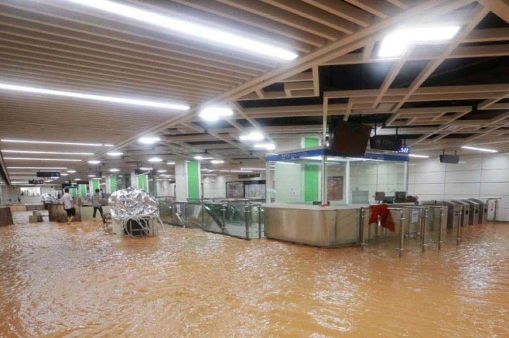Станция метро в Наньнине — городской округ в Гуанси-Чжуанском автономном районе.
