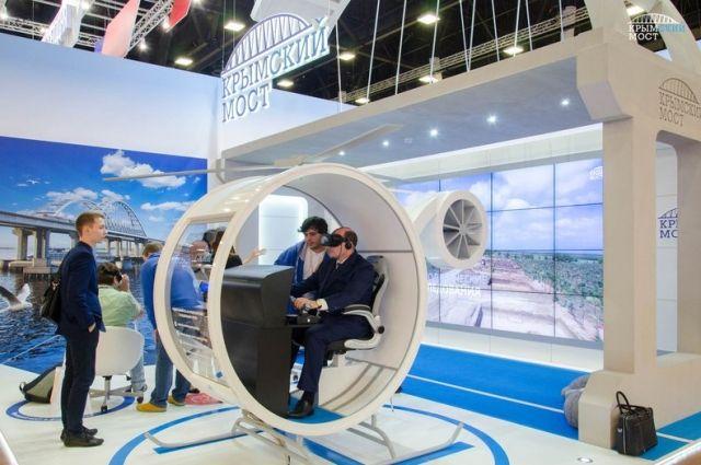 10:10 0 21 Виртуальный тур над Крымским мостом презентовали на ПМЭФ Гости форума смогли пролететь над мостом на вер