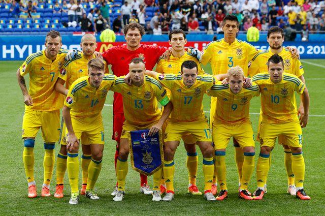 Cборная Украины по футболу.