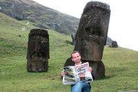 «АиФ» поможет разобраться, кто установил гигантские изваяния на острове Пасхи.