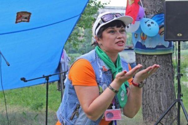 Галина Петрова для участия в «Созвездии» приехала с Урала. Она получила специальный приз «Самый дальний гость».