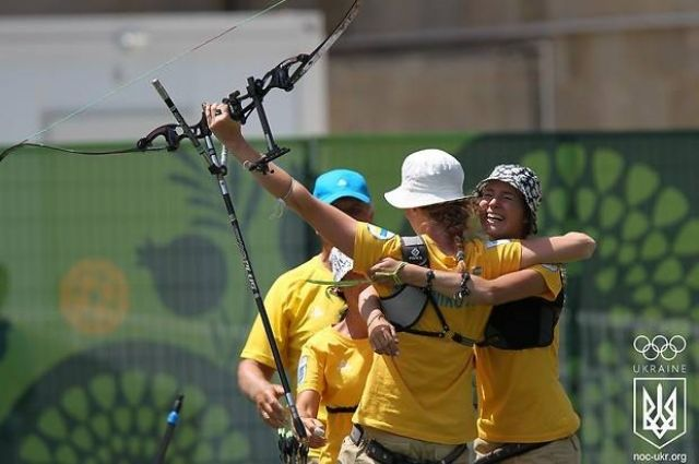 Украинские лучницы завоевали олимпийскую лицензию
