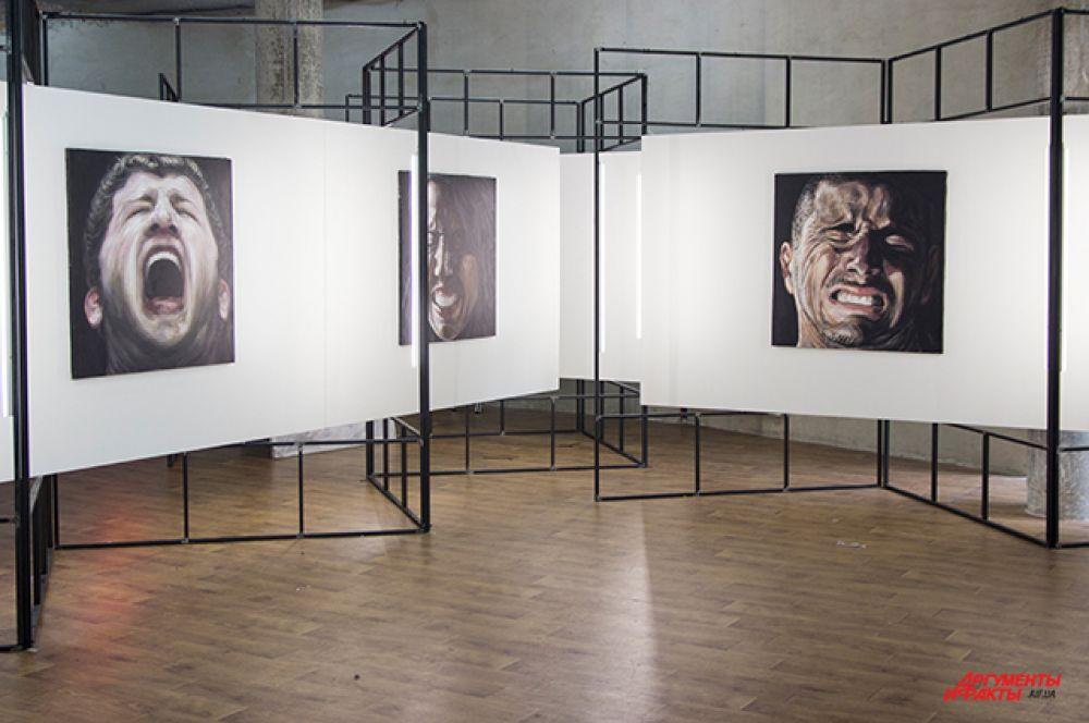 А это грузинская галерея Gamrekeli