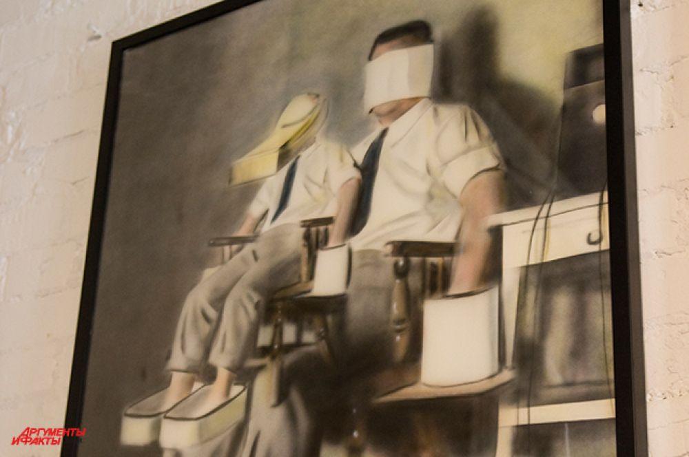 Первые произведения недели искусства люди могли наблюдать в 32 Vozdvizhenka Arts House
