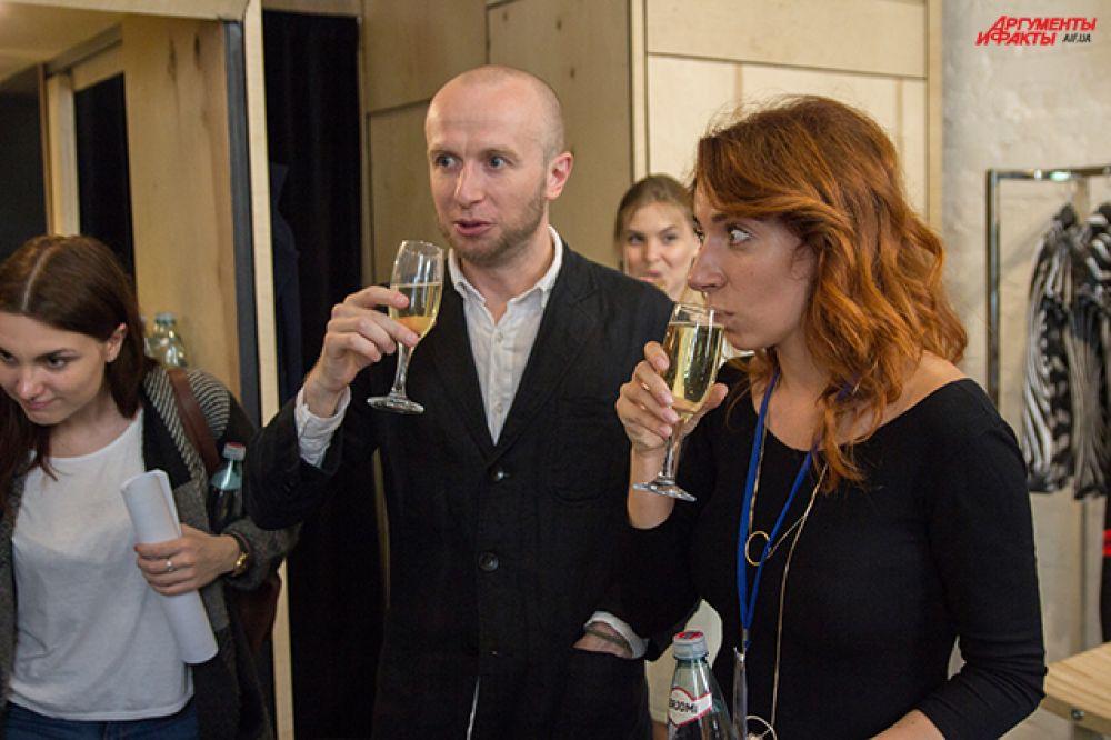 Открытие недели искусства в Киеве