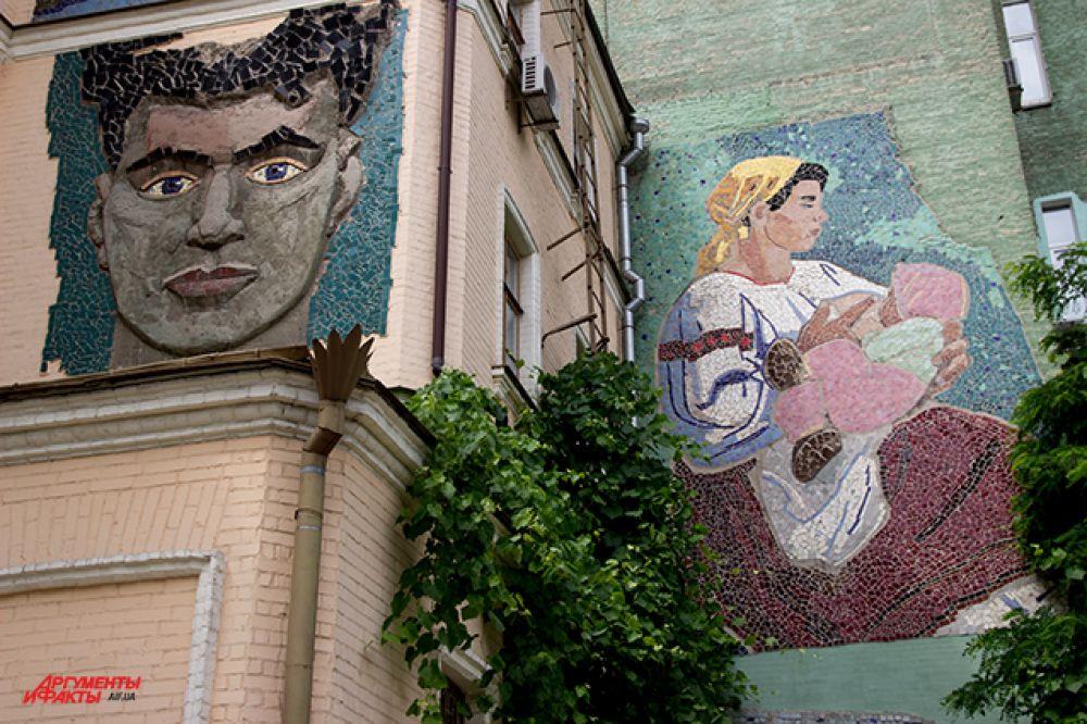 Так выглядит внутренний дворик музея Ханенков