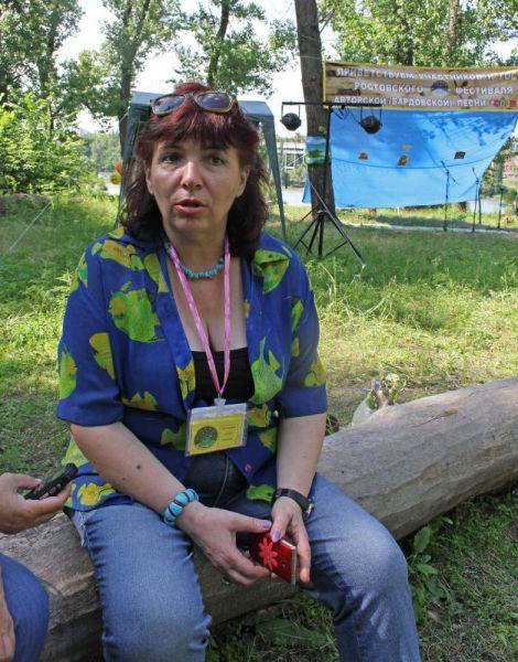 Организатор клуба «Созвездие» Светлана Анищик.