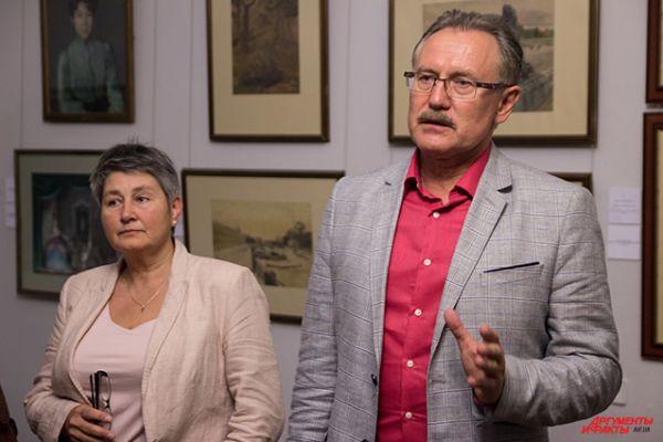 Куратор музея русского искусства вместе с директором рассказывают о предстоящей выставке