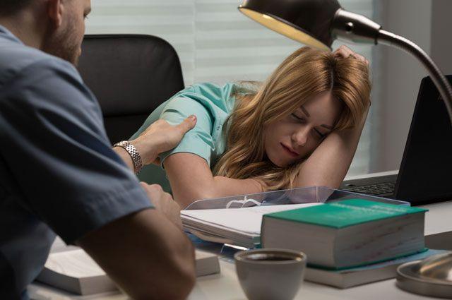 Болит голова после ночной смены