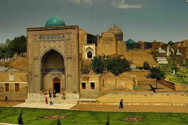 Самарканд, Узбекистан.