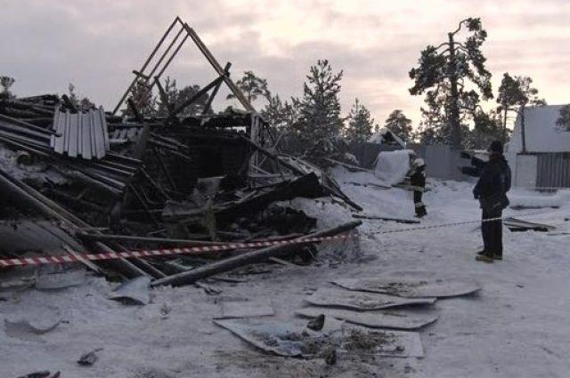 Место трагедии, произошедшей 5 декабря.