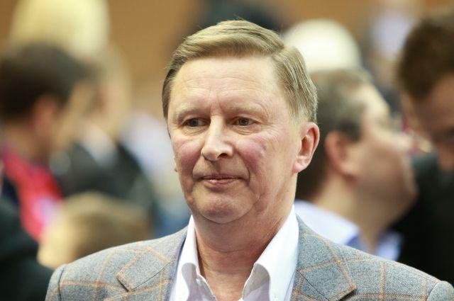 сергей иванов выступил сохранение санкций против россии