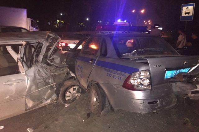 Водитель ГАЗели спровоцировал аварию.