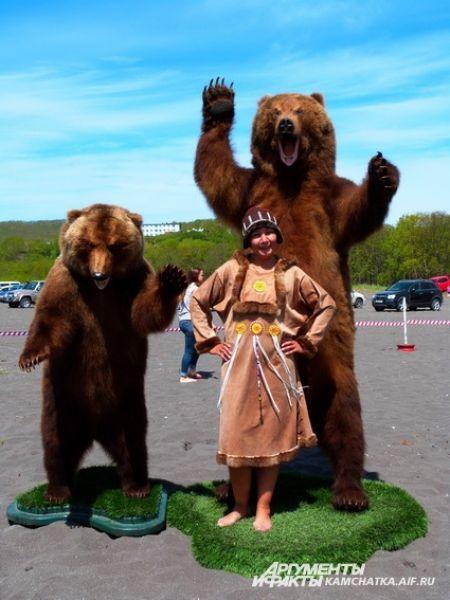 Какое же мероприятие на Камчатке обходится без медведей?!