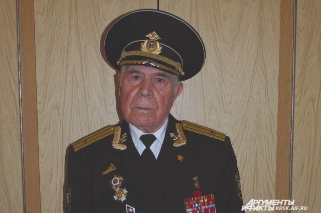 В военном флоте Иван Егоров прослужил семь лет.