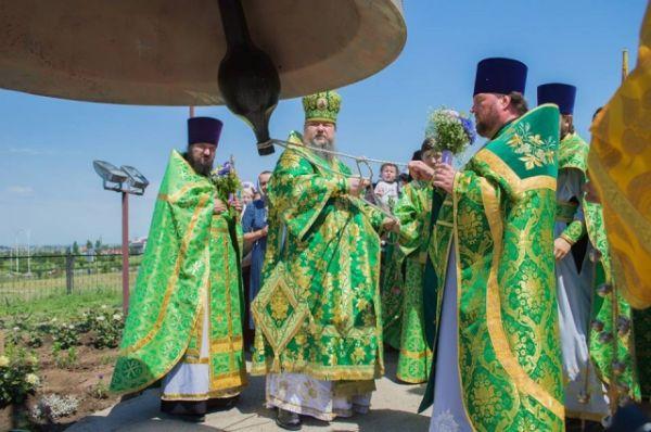 .Его совершил епископ Волгодонский и Сальский Корнилий.
