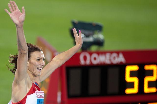 В Лондоне на Олимпиаде 2012 Антюх завоевала долгожданное золото.