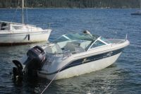 Яхту водолазы обнаружили неподалёку от места крушения.