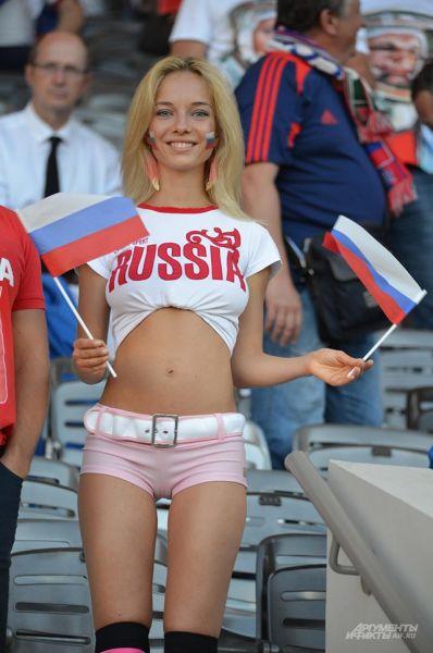 Российских фанатов было замечено немного. Однако, на стадионе временами наших болельщиков было слышно не хуже, чем валлийцев.