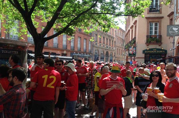 По информации корреспондента АиФ.ru, перед началом матча в городе всё было абсолютно спокойно.