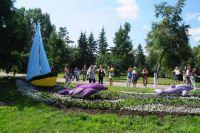 Городская выставка «Флора» стала праздником для всех омичей.