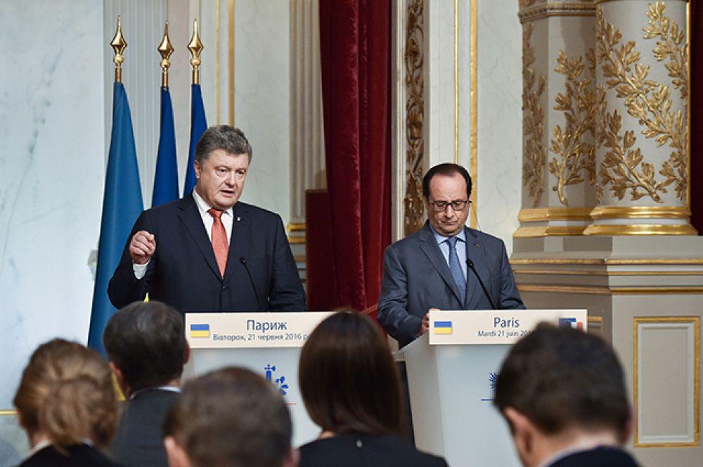 Ситуация на Донбассе была одной из главных тем этой встречи