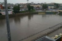 Стадион «Труд» во время последнего ульяновского потопа превратился в стадион «Пруд».