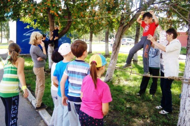 Летний лагерь даёт много возможностей для школьников разного возраста.