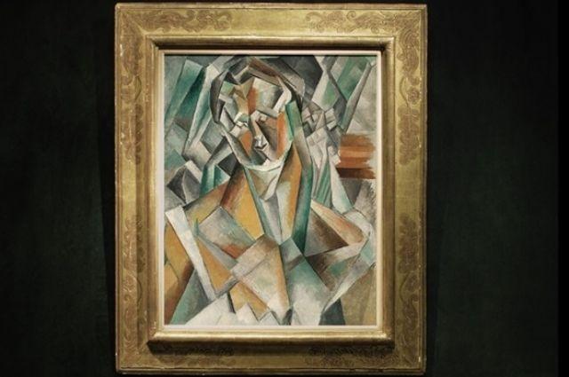 «Сидящая женщина» Пабло Пикассо